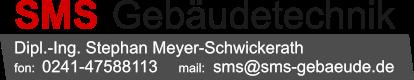 SMS Gebäudetechnik Logo